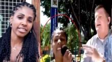 """Mulher que invadiu a tela da Globo - """"A Globo é um lixo"""" - grava vídeo e explica a sua indignação (veja o vídeo)"""