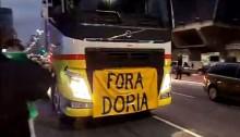 """Mesmo com ameaça de prisão, povo fecha a Paulista, grita """"Fora Dória"""" e desmoraliza o governador (veja o vídeo)"""