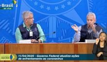 Na TV os boletins diários da equipe de Mandetta são danosos à saúde física e mental dos brasileiros