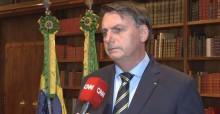 """O """"recado"""" dado pelo presidente Bolsonaro na CNN: Estão quebrando o país para tomar o poder (veja o vídeo)"""