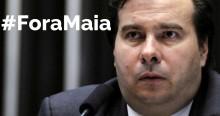População protesta contra Botafogo e #ForaMaia viraliza na internet