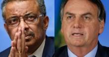 Bolsonaro faz curiosa revelação sobre o diretor da OMS (veja o vídeo)