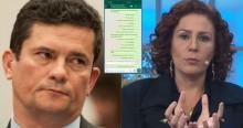 Zambelli surpreende e revela novo print de conversa com Moro (veja o vídeo)