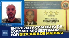 Brasileiro pede socorro para salvar o pai da ditadura de Maduro (veja o vídeo)