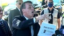"""""""CALA A BOCA!"""" O povão que elegeu Bolsonaro quer ver mentiroso tomando invertida"""