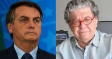 Bolsonaro almoçou com jornalista que teria sido agredido em manifestação