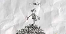 Doutrinação: Professora pede redação sobre 'charge' de Bolsonaro em cima de pilha de cadáveres