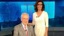 """Áudio vaza na Globo e Giuliana Morrone detona Alexandre Garcia: """"Está gagá"""" (veja o vídeo)"""