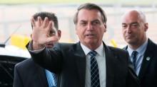 """Após provocação sobre renúncia, Bolsonaro crava: """"Só saio em 1º de janeiro de 2027"""" (veja o vídeo)"""