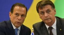 O tratamento que Bolsonaro dispensou a Doria na reunião ministerial