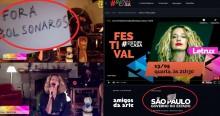 """""""Artista"""" usa live paga com dinheiro público para atacar Bolsonaro (veja o vídeo)"""