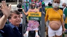 AO VIVO: Bolsonaro sobrevoa a Praça dos Três Poderes lotada e vai para o meio do povo (veja os vídeos)
