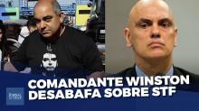 Ditadura da Toga: O depoimento emocionado e revelador do comandante Winston (Veja o vídeo)
