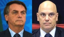 """Bolsonaro compartilha discurso de Moraes sobre o tema """"liberdade"""" (veja o vídeo)"""