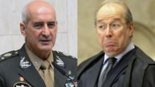 General Ramos pede respeito e amor à pátria ao decano Celso de Mello