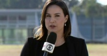 """Em """"ato falho"""", repórter da Globo comete gafe ao vivo e chama empresário de """"otário"""" (veja o vídeo)"""