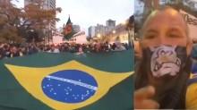 Sob o comando do lutador Wanderlei Silva, manifestação em Curitiba é apoteótica (veja o vídeo)