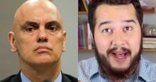 Jornalista detona Moraes, afirma que o ministro mentiu e é censurado novamente (veja o vídeo)