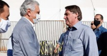 Após Bolsonaro inaugurar hospital de campanha em Goiás, Caiado se rende em elogios (veja o vídeo)