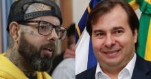 """Maia e Tico Santa Cruz trocam afagos na web e combinam live para discutir """"democracia"""""""