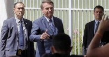 """AO VIVO: """"Está chegando a hora de tudo ser colocado no devido lugar"""", diz Bolsonaro (veja o vídeo)"""