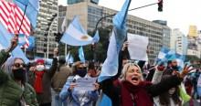 Argentinos protestam contra intervenção em exportadora. Prenúncio de venezuelização? (veja o vídeo)