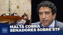 Maioria do Senado é omissa e conivente em relação ao STF, afirma Magno Malta (veja o vídeo)