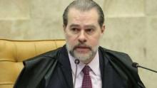 Em acidente doméstico, Dias Toffoli bate a cabeça