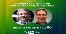 Em incrível ascensão, Lacombe anuncia nova 'superlive' com Guilherme Fiuza (veja o vídeo)