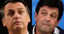 """Bolsonaro detona Mandetta: """"Passava mais tempo falando do que trabalhando"""" (veja o vídeo)"""