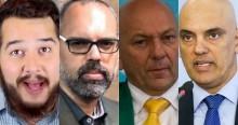 Após mandado de Moraes, Twitter derruba perfis de conservadores