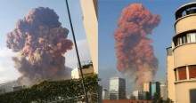 Urgente: Grande explosão atinge o Líbano e deixa pelo menos 10 mortos (veja os vídeos)