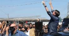 AO VIVO: Bolsonaro tem recepção apoteótica em SP (veja o vídeo)