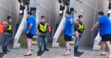 Atitude de Mateus foi a de um verdadeiro Brasileiro (veja o vídeo)
