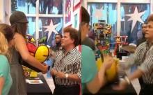 """A """"treta"""" humilhante em que se envolveu Romero Britto (vídeo completo e legendado)"""