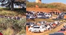 Imagens impressionantes: 'Saidão' dos dia dos pais libera 1144 presos no ES (veja o vídeo)