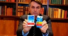 """Bolsonaro sobre China recomendar a Cloroquina: """"Vamos ver o que a mídia vai falar"""" (veja o vídeo)"""