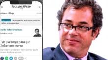 PF intima colunista da Folha, que afirmou torcer pela morte de Bolsonaro