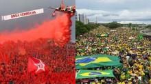 """Qual é a sua cor? """"O verde e amarelo ressurgiram depois da queda do vermelho"""""""