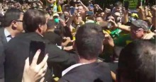 AO VIVO: Bolsonaro é recepcionado por calorosa multidão em MG (veja o vídeo)