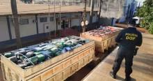 Polícia faz a maior apreensão de drogas da história: 33 toneladas