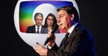 Bolsonaro aciona a Justiça contra a Rede Globo