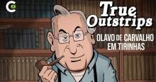 Professor Olavo  de Carvalho ganha personagem em quadrinhos