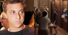 Em espetáculo de hipocrisia, Huck promove animada festa de aniversário no Ceará (veja o vídeo)