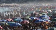 """O curioso é ver quem ficou """"chocado"""" com o movimento nas praias"""