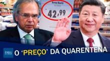 """Ditadura chinesa: O """"fique em casa"""", o PIB chinês e o preço do arroz (veja o vídeo)"""