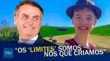 Tiago Linck: o exemplo de superação do menino que emocionou Bolsonaro e o Brasil (veja o vídeo)