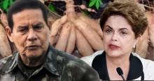 A reserva sem índios da Dilma e a mandioca do Mourão