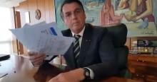 """Bolsonaro rebate """"mídia do ódio"""" e reforça compromisso: """"Jamais tiraria dos pobres para dar aos paupérrimos"""" (veja o vídeo)"""