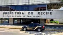 PF amanhece na prefeitura de Recife, do PSB, com um mandado de prisão